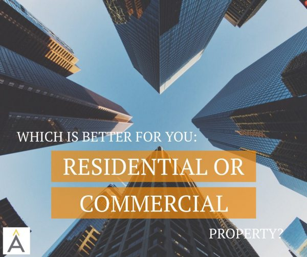 residential or commercial investment