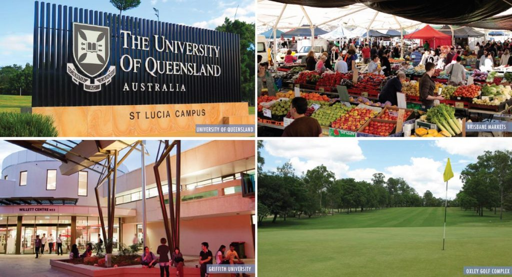 56 Hood St is close to the Brisbane Markets, Oxley Golf Course, Griffith University and The University of Queensland