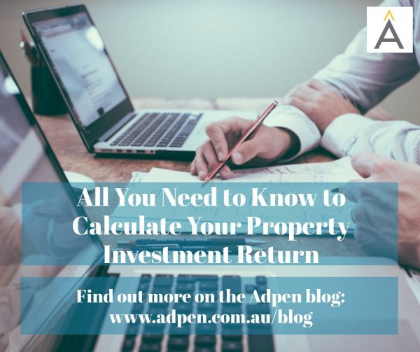 020 calculate property investment return