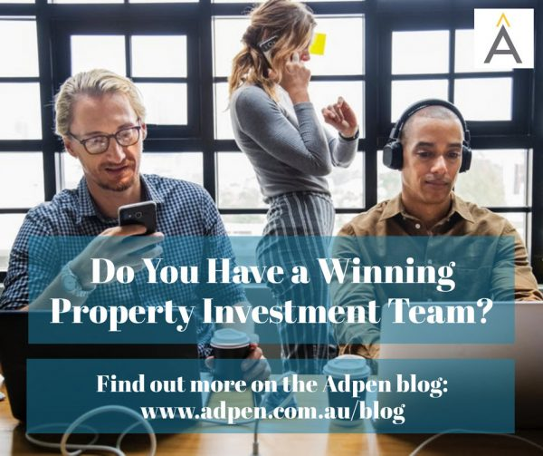 Do You Have a Winning Property Investment Team in Your Corner?