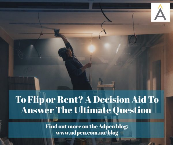 To Flip or Rent? A Decision Aid to Help You Answer the Ultimate Question