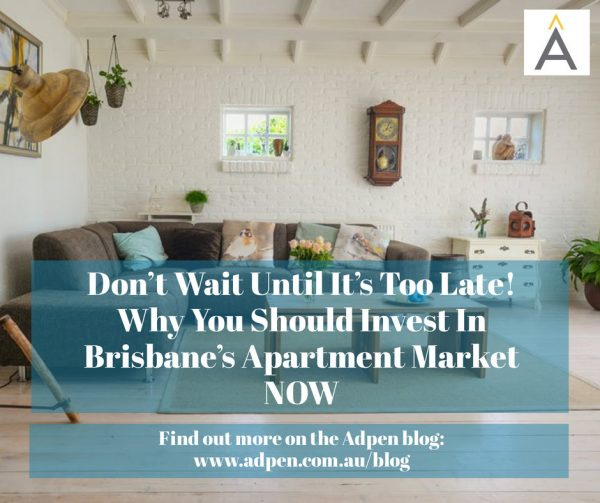 Don't Wait Until It's Too Late! Why You Should Invest In Brisbane's Apartment Market NOW