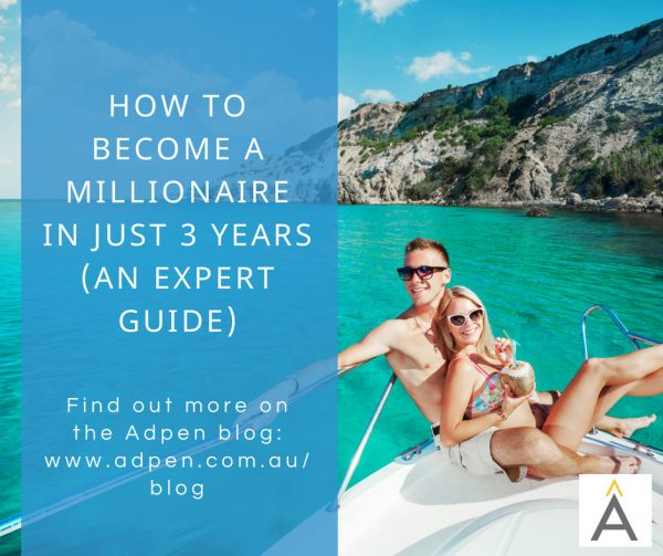 How To Become A Millionaire In 3 Years (An Expert Guide)
