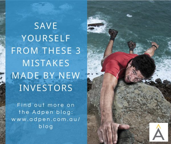 Save Yourself From These 3 Simple Mistakes Made By First-Time Investors