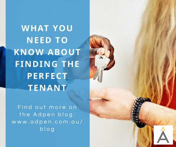 finding good tenant 1