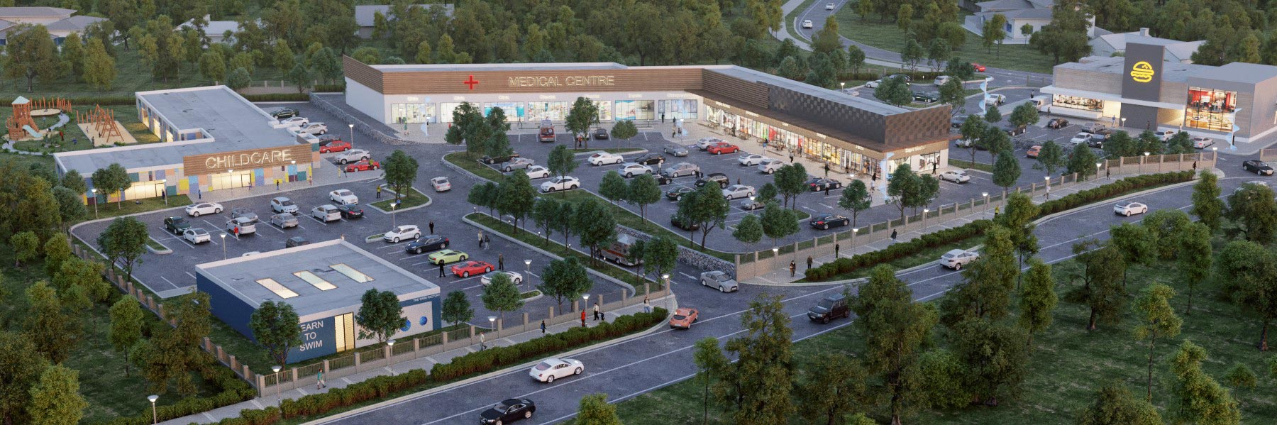 Bahrs Square   Artist's impression of the commercial development