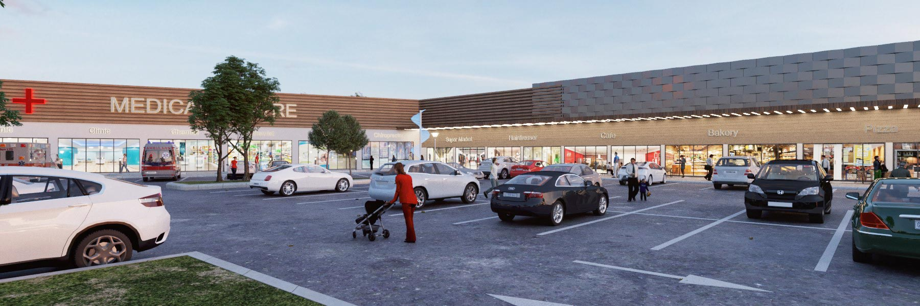 Bahrs Square | Artist's impression of the commercial development